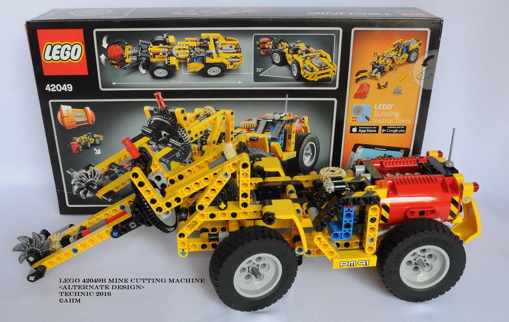 Lego 42049b Mine Cutting Machine Lego 42049b Mine Cutting Flickr
