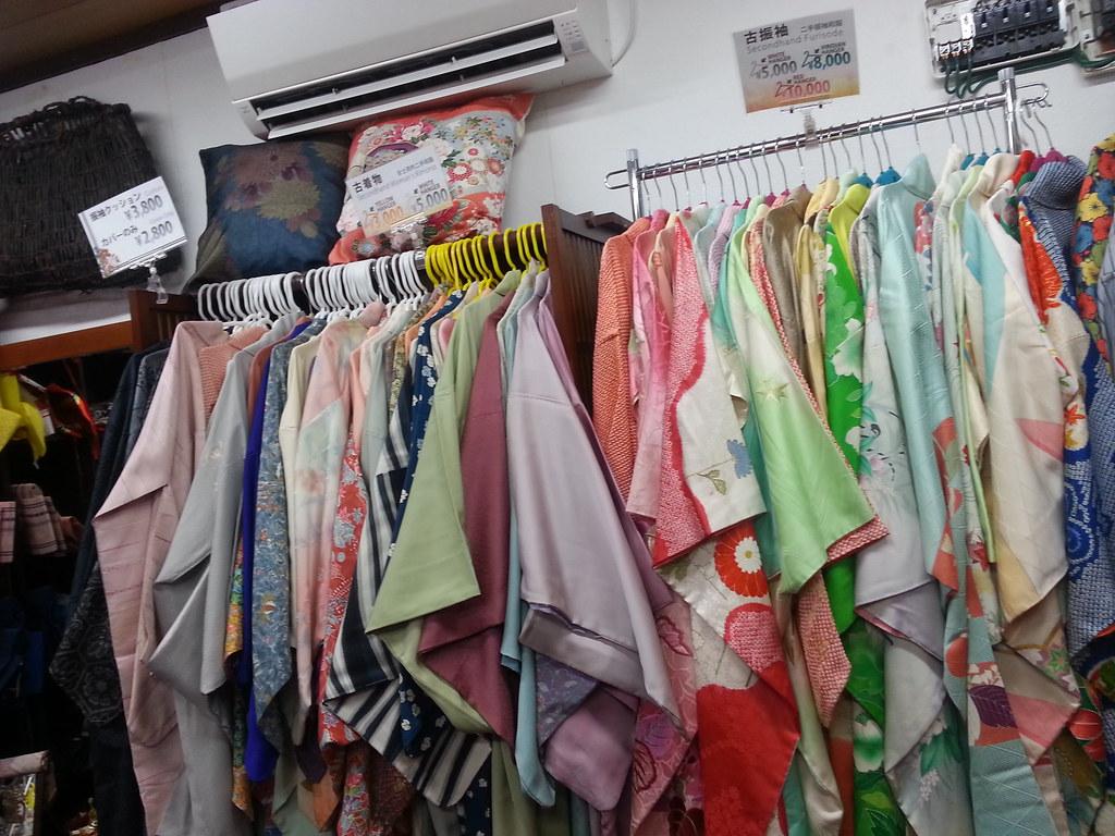 Second-Hand Kimono Shop - Arashiyama in Kyoto
