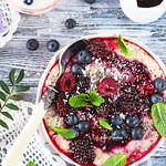 Quinoa and Amaranth Porridge