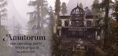 Amatorum Sim Opening Party | by Luna Jubilee / !bang poses