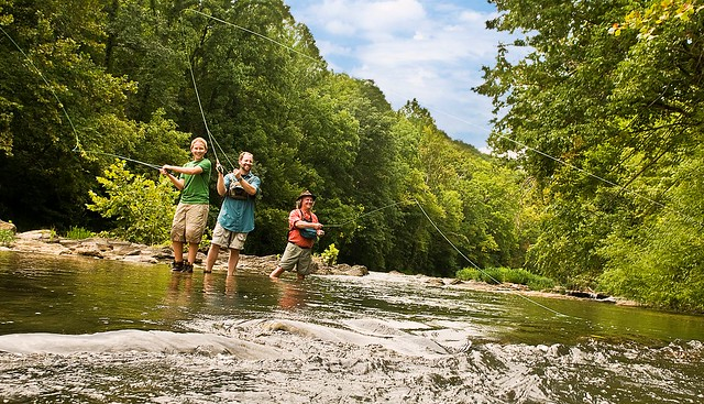 Fishing in Virginia's Blue Ridge
