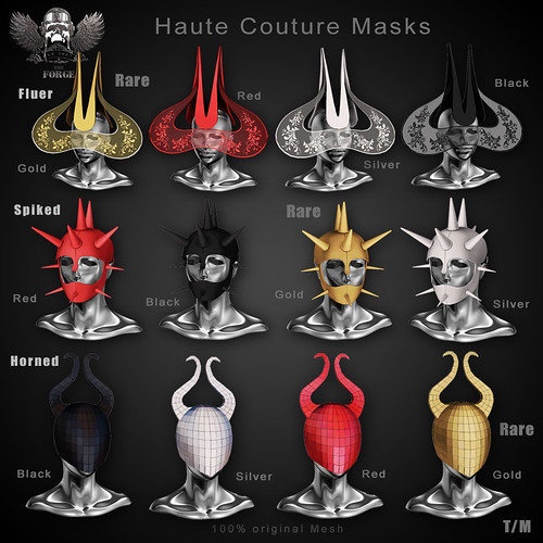 Forge Haute Couture Masks | by The Forge & EZ