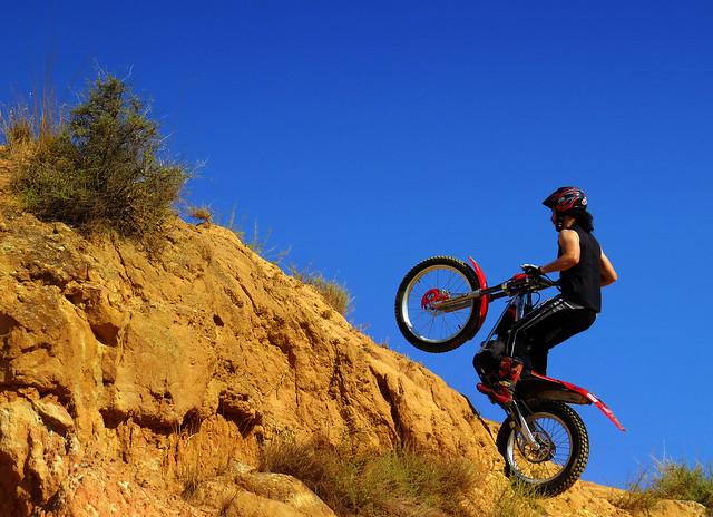 dirt bike trails