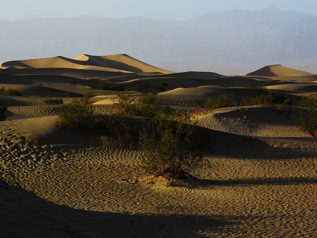 Mesquite Flat Sand Dunes, Death Valley, CA, USA