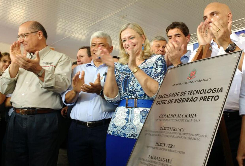 Governador inaugura Fatec Ribeirão Preto
