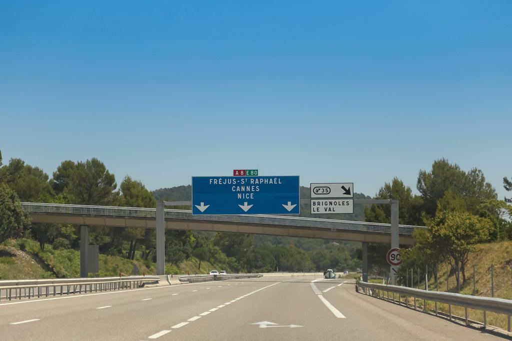 Autoroute A8 - Brignoles (France)   Autoroute [A8]   Brignol…   Flickr