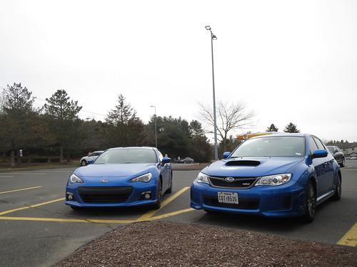 About Subarus Blue Paint