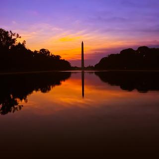 Sunrises Over Washington Washington