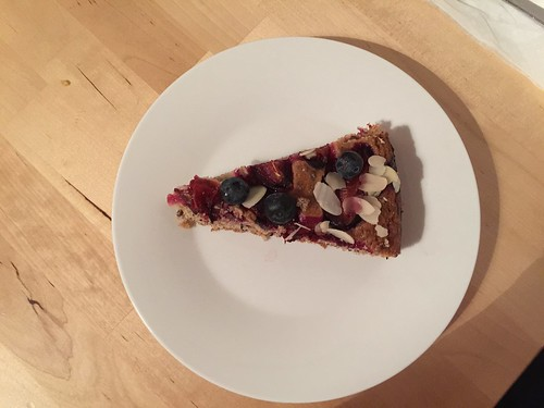 Blueberry & almond cake | by Rachel Cotterill