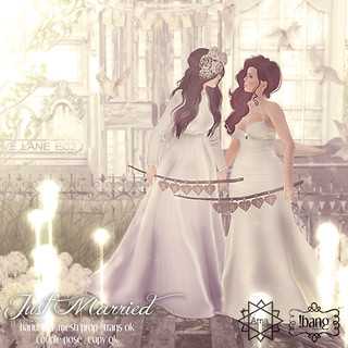 !bang - just married FF | by Luna Jubilee / !bang poses