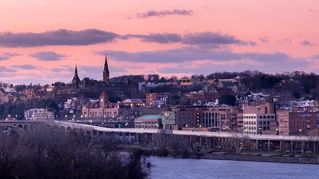 Georgetown University and the Georgetown Waterfront