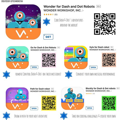 QR Codes for Dash & Dot | by diane horvath