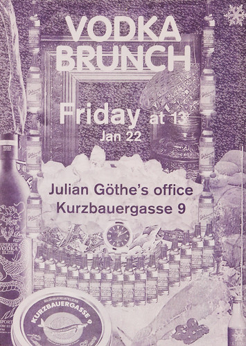 Vodka Brunch Poster | by Julian Turner