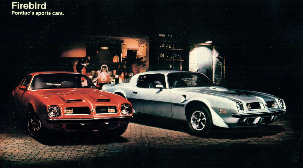 1975 Pontiac Firebird Formula and Trans Am | coconv | Flickr