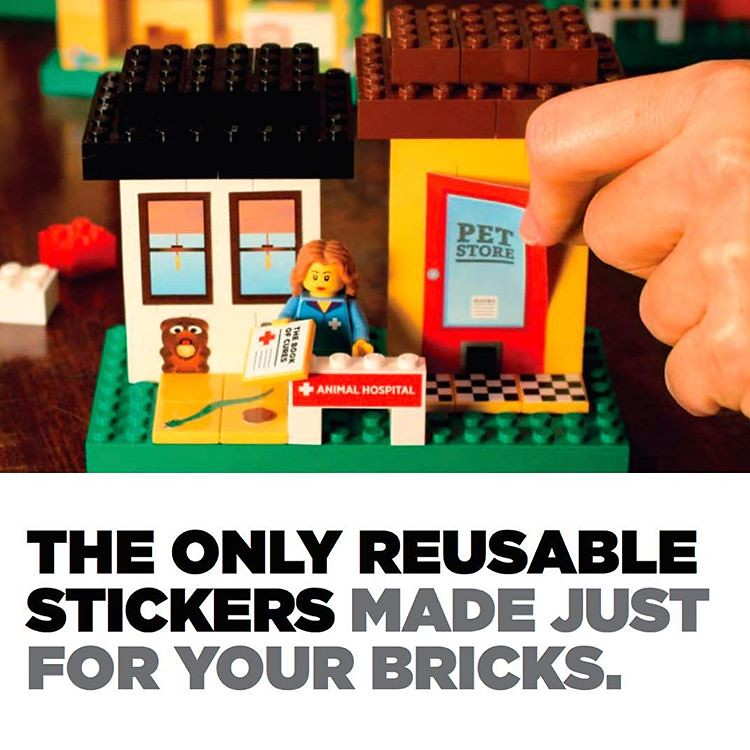 brickstix are the only reusable stickers made for bricks l flickr