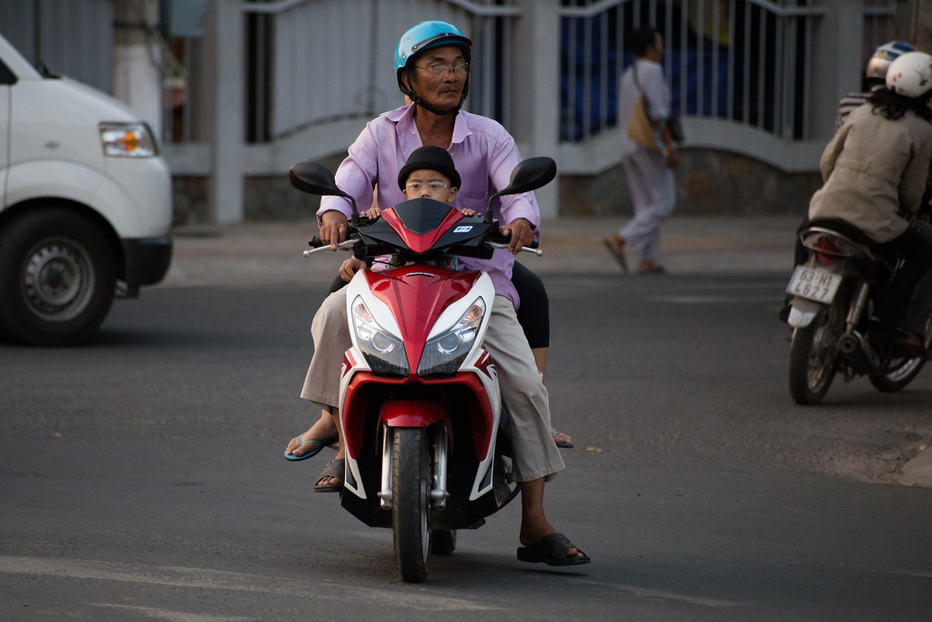 Traffic In My Tho Vietnam Alex Berger Flickr