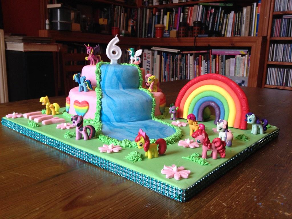 My Little Pony 6th Birthday Cake Brazen J Flickr