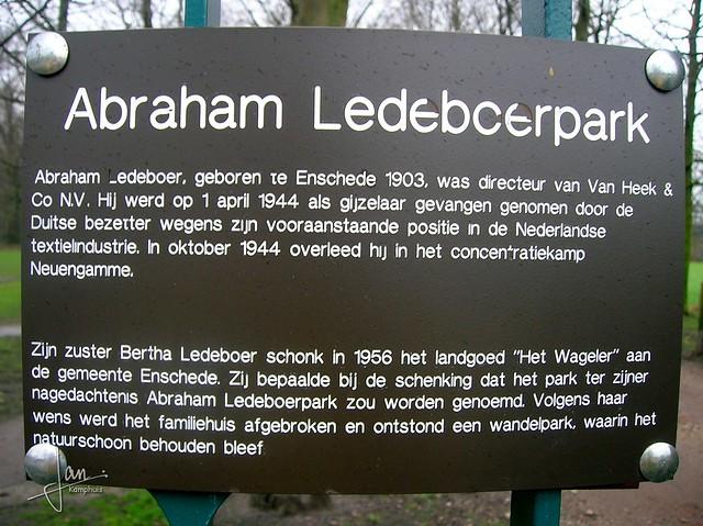 Enschede 2007 - Ledeboerpark