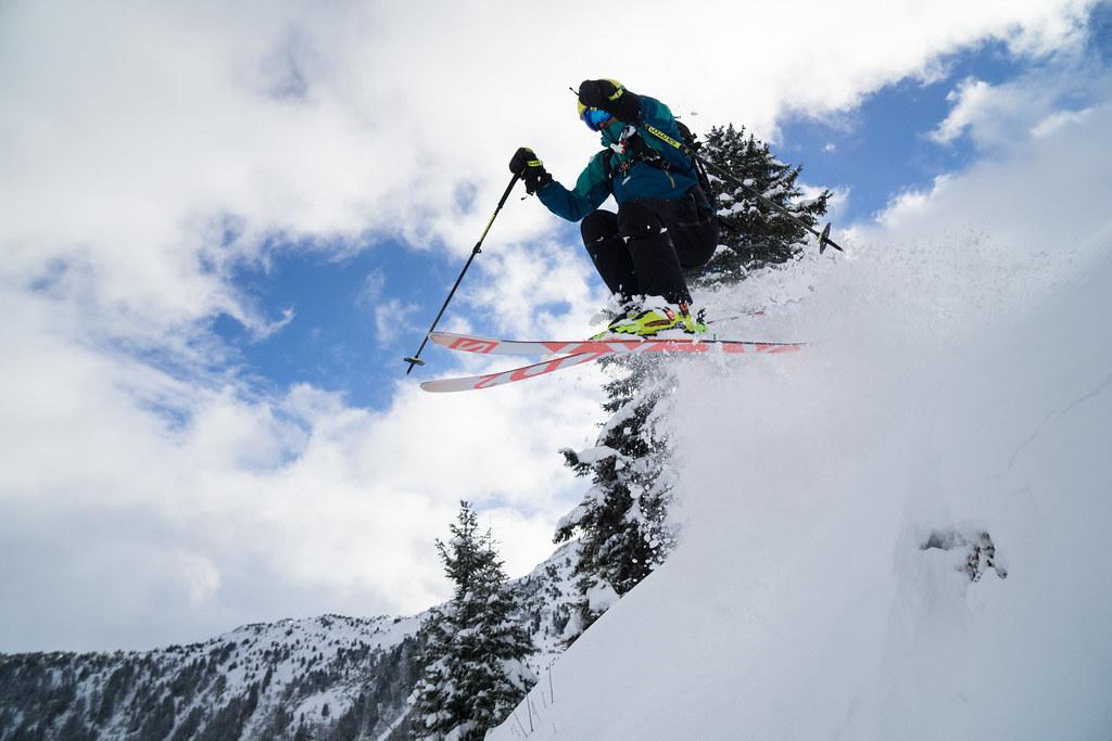 Ski à Arêche-Beaufort