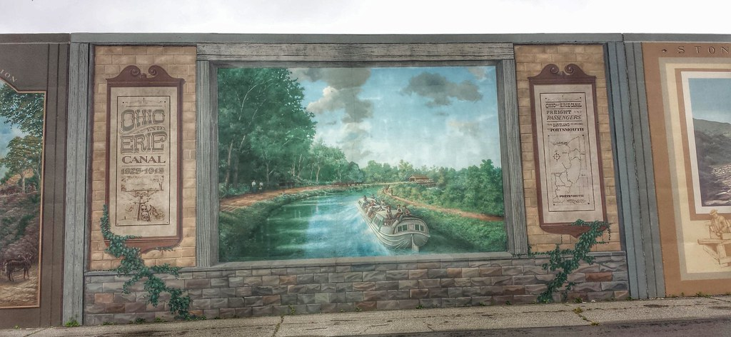 ... Flood Wall Murals  Portsmouth OH (1)   By Kevystew