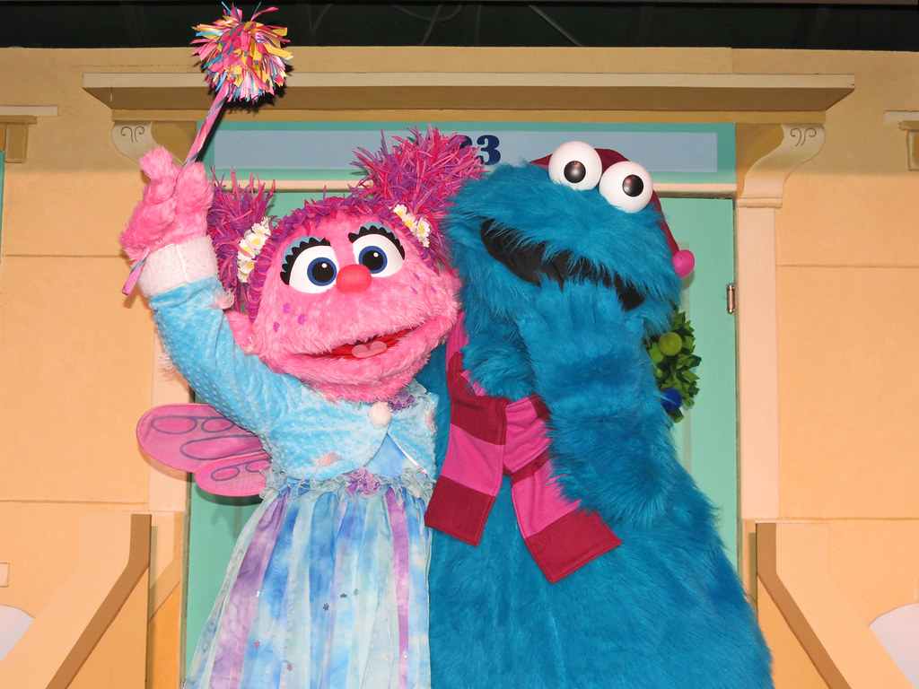 Abby Cadabby And Cookie Monster