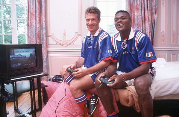 Image result for Marcel Desailly didier deschamps