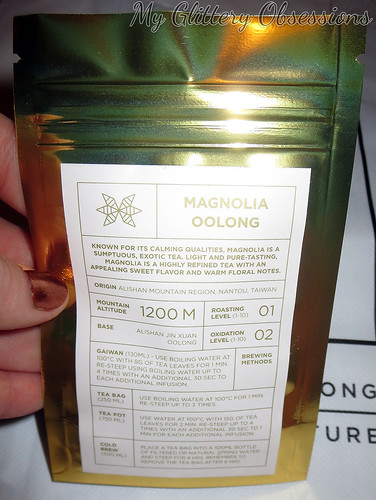 magnolia oolong package | by MyGlitteryObsessions