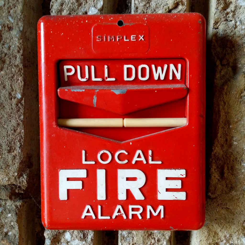 Fire Alarm Pull Station Simplex Breakrod For Manual Sounder With Flasher Wiring Diagram Couch Ch Flickr