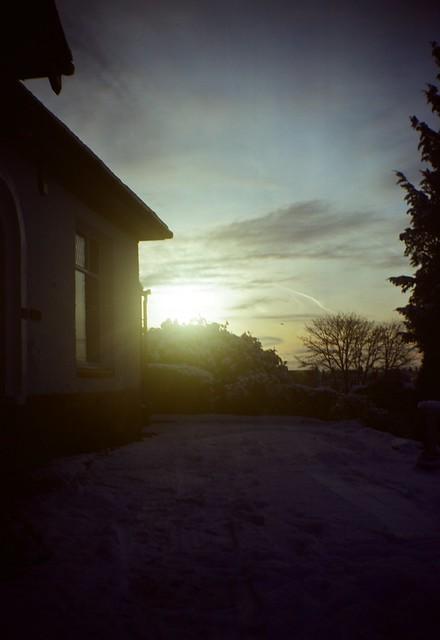 Winter sundowning