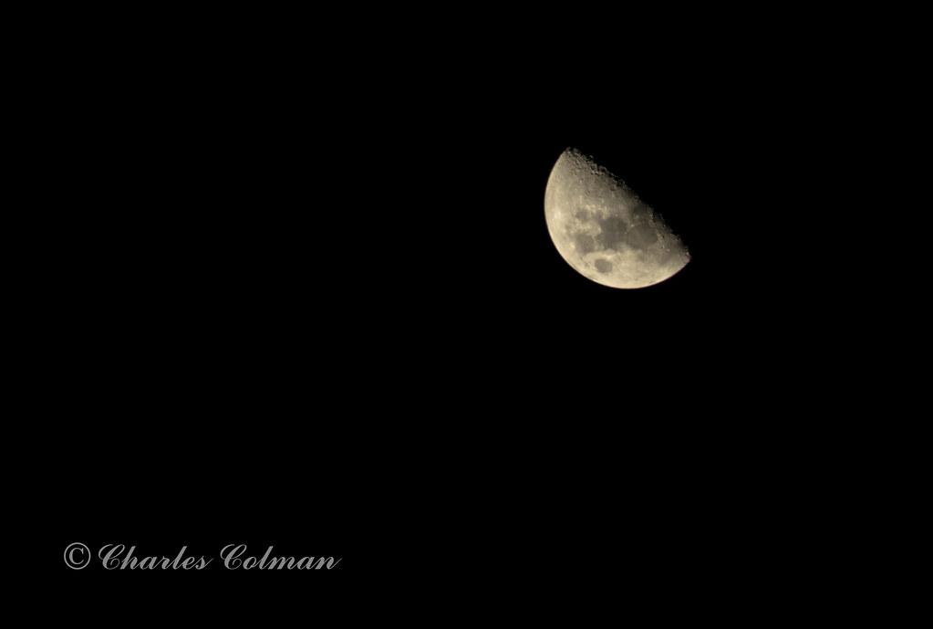 Luna en Cuarto Menguante   Charles Colman   Flickr