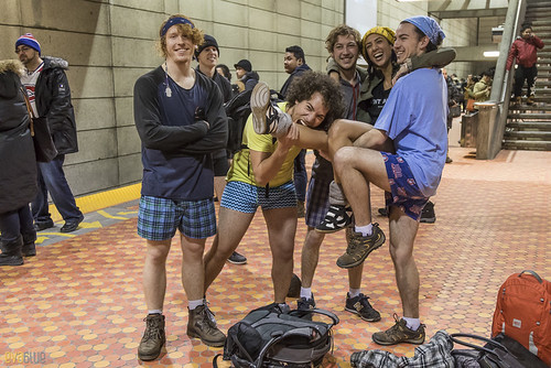 no pants subway ride montreal 2016 - 71 | by Eva Blue