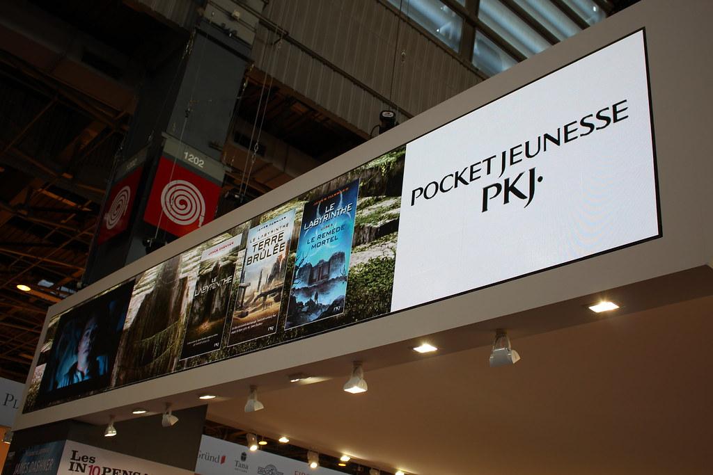 Pocket Jeunesse (PKJ) - Livre Paris 2016
