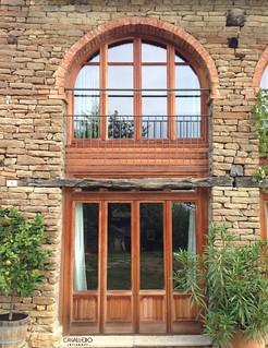 Finestre ad arco in larice naturale non trattato il client flickr - Finestre ad arco ...