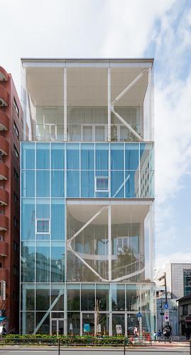 Facade Of Shibaura House 芝浦のオフィス Shibaura House 芝浦の