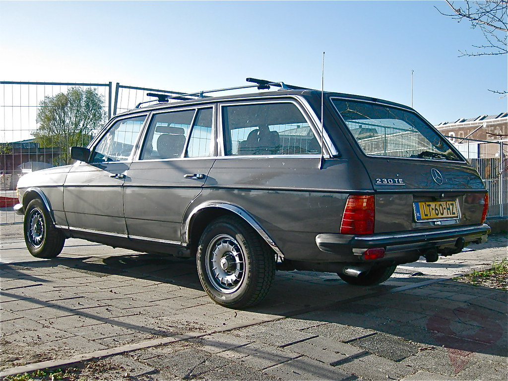 1984 Mercedes Benz W123 230te Automatic The W123 Series Wa Flickr