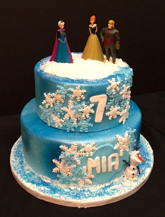 Frozen Cake By Amy Northern Utah Birthdaycakes4free