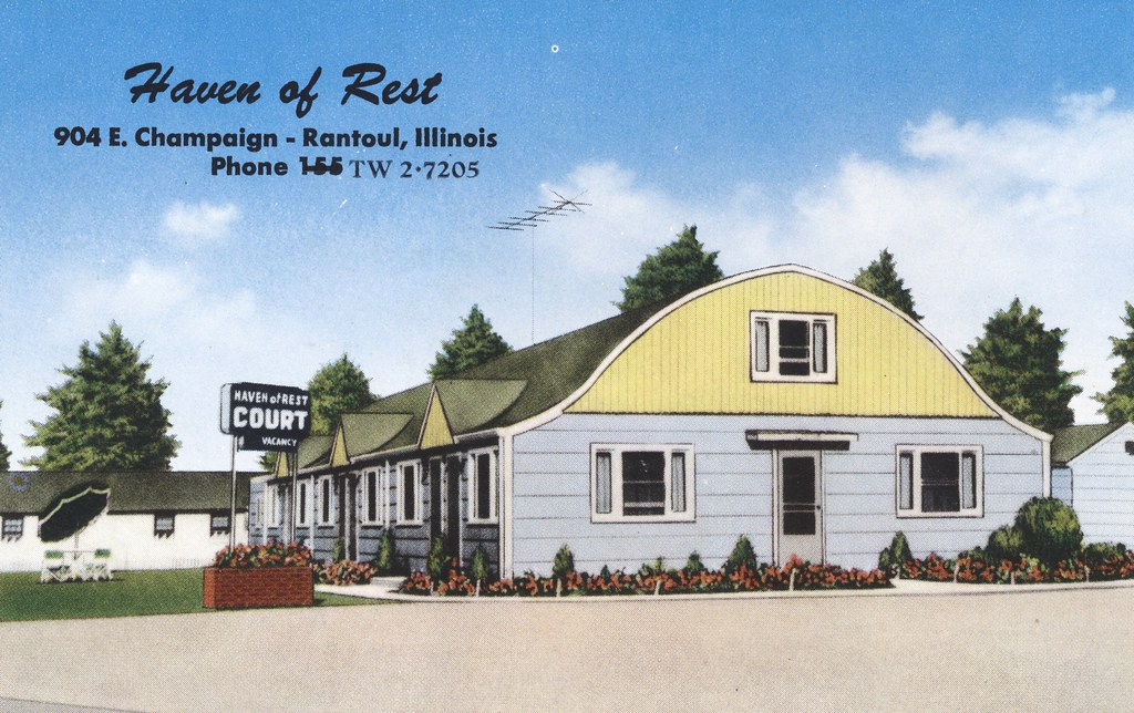 Haven of Rest Motel - Rantoul, Illinois