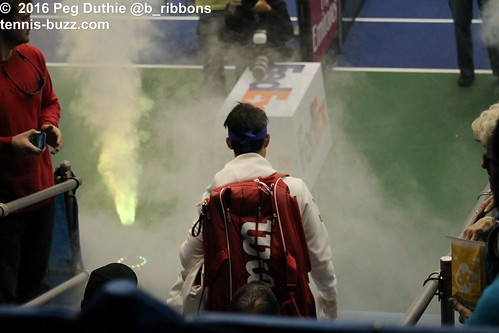Nishikori's entrance | by plduthie