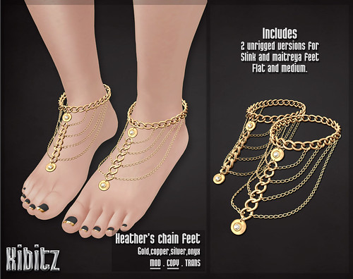 kibitz Heathers chain feet vendor | by ĸαтнyα | ĸιвιтz | worɴcloтнeѕ