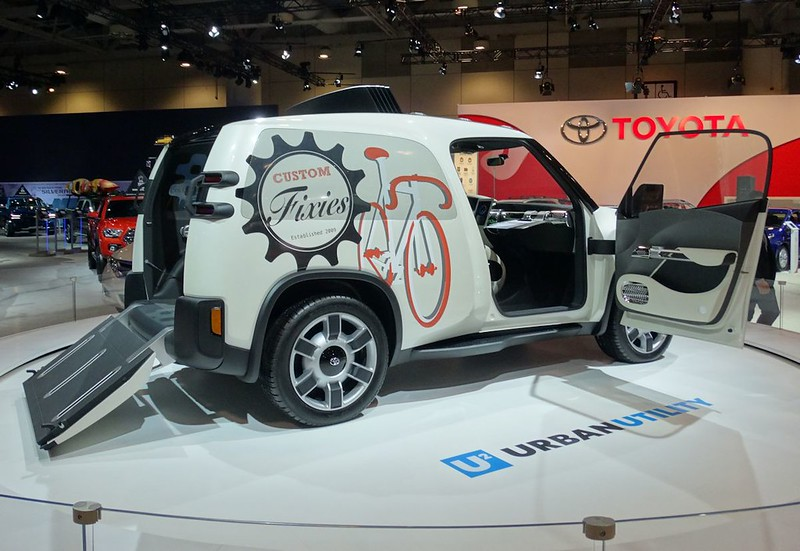 Toyota U Squared Concept at 2016 CIAS