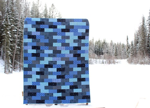 Parson Gray Katagami Quilt | by CoraQuilts~Carla