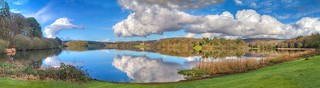 George Wellman CKG panaromic view over White Loch | by Castle Kennedy Gardens