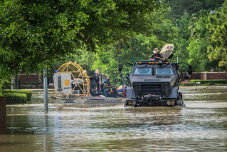 Rescue Vehicles | Cypress Creek flooding in Spring TX ...