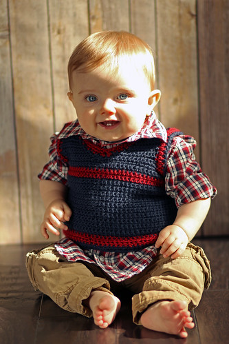 Crocheted sweater from Gram | by LABabble