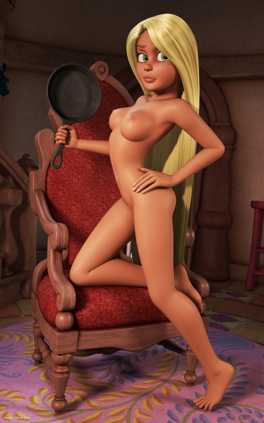 tangled-girl-nude