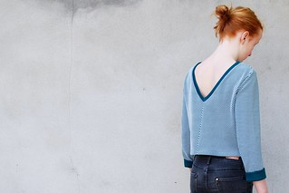 #croptopsweater #zonen09fabric | by Polkadotjes.