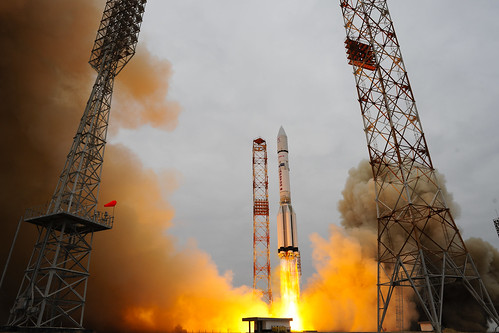 ExoMars 2016 liftoff | by europeanspaceagency