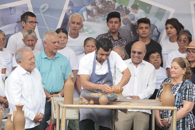 Festival para el buen vivir y Gobernando con la gente, Ilobasco.