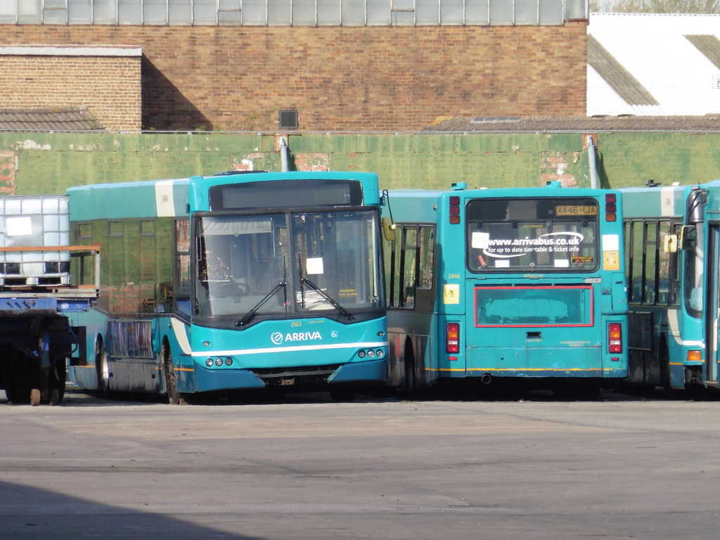 ... Arriva North West 2563 + 2446 | by North West Transport Photos
