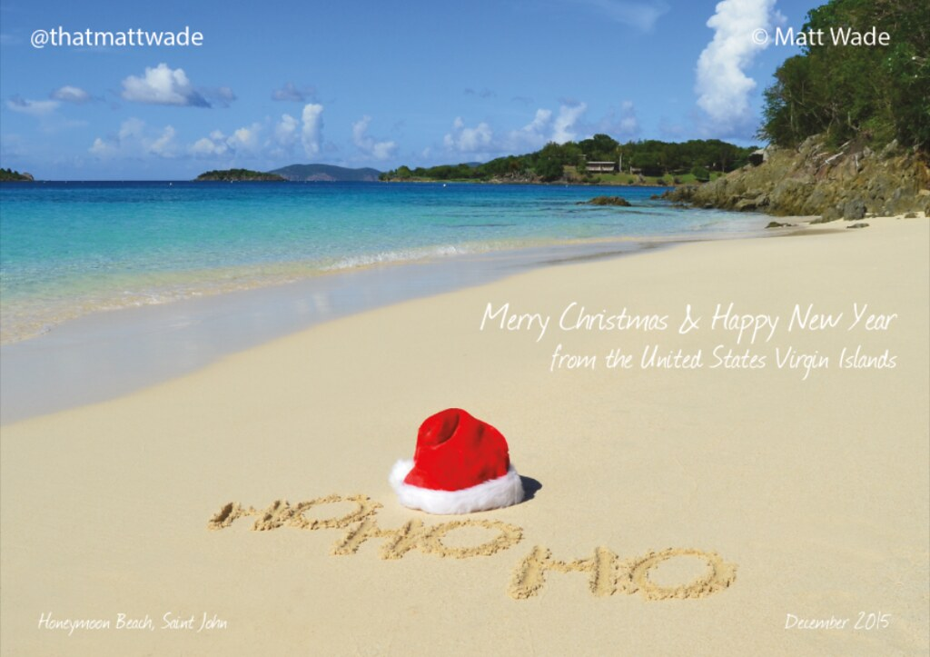 merry christmas and happy new year by thatmattwade - Merry Christmas Beach Images